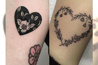 Tatuaże z motywem serca - najpiękniejsze pomysły dla dziewczyn