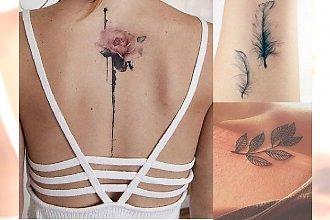 Tatuaże dla dziewczyn - 22 pomysłowe wzory, które skradną Ci serce