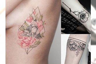 Tatuaże z motywem kwiatów - delikatne, dziewczęce i uwodzicielskie wzory