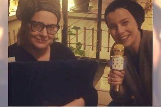 """KASIA NOSOWSKA trenuje na Instagramie. """"MEGA TURBO KREATOR OPONY. Leżymy i czekamy aż zawiąże nam się sadło"""""""