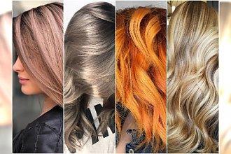 Modne kolory włosów 2018 - najciekawsze pomysły na wiosenną koloryzację