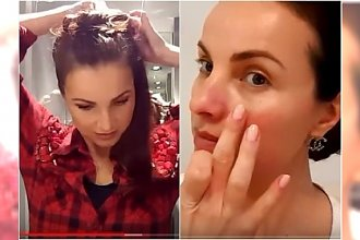 """Aktorka z """"Plebanii"""" została vlogerką! Testuje kosmetyki i doradza w sprawach urodowych"""