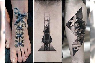 Oryginalne tatuaże 3D jak małe dzieła sztuki! Co powiecie na takie cacko?