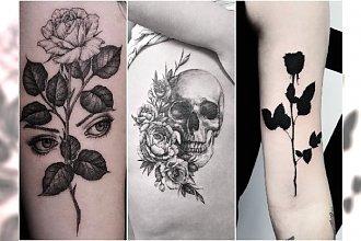 30 pomysłów na czarny tatuaż - oryginalne wzory, kobiece motywy!