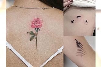 Galeria małego tatuażu - mega modne, śliczne wzory dla dziewczyn
