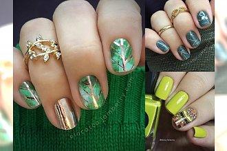 Zielony manicure - najlepsze pomysły na wiosenne zdobienie paznokci