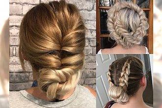 Modne fryzury dla długich i półdługich włosów - na wesela i inne imprezy
