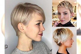 Modne fryzury krótkie dla blondynek – galeria nowoczesnych cięć