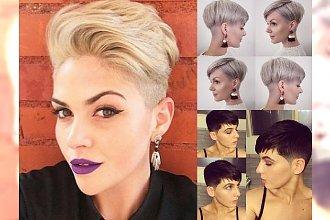 Krótkie fryzury damskie 2018 - kilkanaście pomysłów na modne cięcia