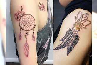 Tatuaż łapacz snów – galeria modnych pomysłów 2018