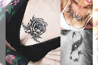 Modne tatuaże 2018 - nowe wzory na dekolt, kark, rękę i wiele innych miejsc!