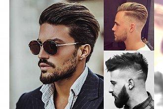Modne fryzury męskie - katalog stylowych cięć 2018
