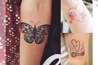 Tatuaże niewielkich rozmiarów dla dziewczyn - śliczne wzory, w których można się zakochać