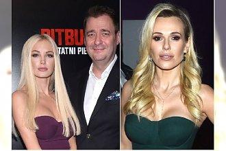 """Roxi Gąska i Jacek Rozenek na premierze """"Pitbulla"""". Taką samą kreację miała wcześniej Doda! Która lepiej?"""