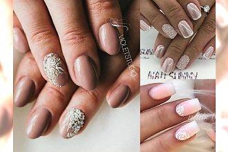 Ślubny manicure 2018 - piękne i oryginalne propozycje