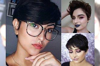 Najpiękniejsze krótkie fryzury dla dziewczyn o ciemnych włosach - galeria perełek