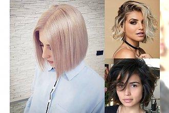 Włosy do ramion i w pół szyi – GALERIA kobiecych trendów na rok 2018