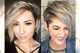 Fryzury z grzywką na bok – modne propozycje dla krótkich włosów