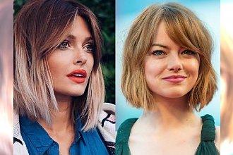 Zjawiskowe fryzury z grzywką - 18 modnych cięć dla włosów półkrótkich i półdługich