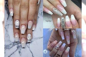 Manicure 2018: Baby Boomer Glamour - idealna propozycja na manicure ślubny!