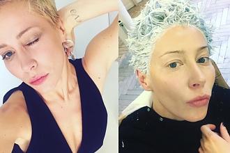 Katarzyna Warnke już tak nie wygląda. Aktorka całkowicie OGOLIŁA GŁOWĘ!