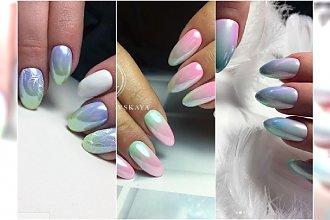 Błyszczące paznokcie to hit wiosny! Wypróbujcie dwa wielkie trendy: OPAL i PERŁĘ