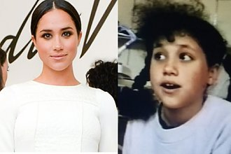 Meghan Markle jest już KSIĘŻNĄ! Jak wyglądała w latach młodzieńczych?