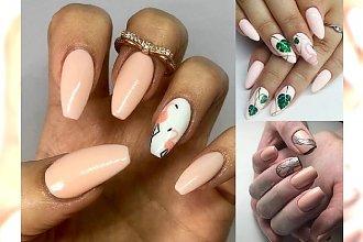 Manicure w odcieniach soczystej brzoskwini - 20 najpiękniejszych pomysłów