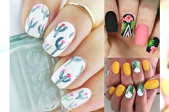 Prześliczne zdobienia paznokci na wiosnę i lato - nowe pomysły!