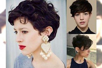 Najmodniejsze fryzury dla brunetek i szatynek - 22 pomysły na krótkie cięcie
