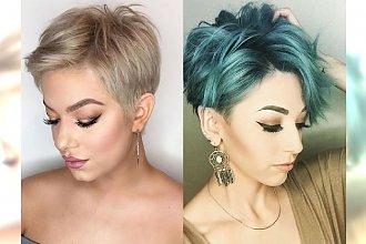Fryzury pixie cuts 2018 – nowoczesne cięcia, które odświeżą Twój look