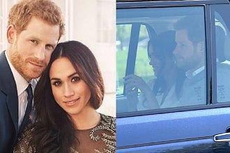 Meghan i Harry z rodziną na PRÓBIE GENERALNEJ w zamku Windsor. Jak wyglądają chwilę przed ślubem?