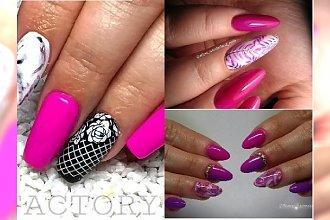 Manicure 2018: Fuksjowe paznokcie to soczysta propozycja na wiosnę i lato! Te propozycje skradną twoje serce