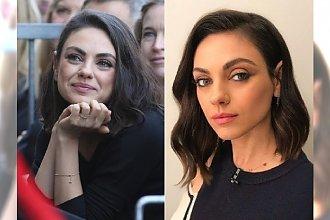 Mila Kunis już tak nie wygląda! W nowej fryzurze przypomina... inną znaną aktorkę!