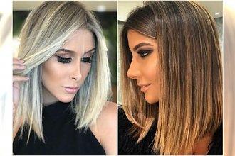Średnie włosy i MODNA KOLORYZACJA BLOND. Tak wyglądają najmodniejsze fryzury tego lata!