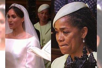 Mama Meghan Markle płacze na ślubie córki i księcia Harry'ego. To najbardziej wzruszający moment ceremonii