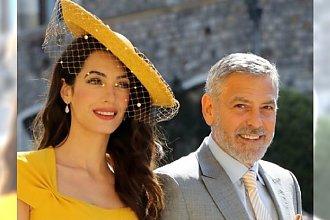 Ślub księcia Harry'ego i Meghan Markle: Amal Clooney była NAJLEPIEJ UBRANĄ osobą na ceremonii!