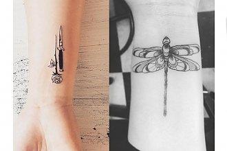 Tatuaż w okolicy nadgarstka - galeria oryginalnych wzorów dla dziewczyn
