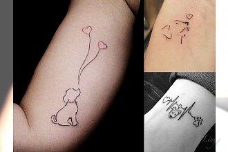 20 tatuaży dla miłośników zwierząt - te wzory podkreślą Twoją więź z pupilem!