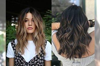 Ombre, balejaż i refleksy w przepięknych odcieniach - uzyskaj efekt słonecznego rozjaśnienia na ciemnych włosach