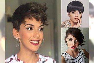 Odmładzające fryzury krótkie dla dziewczyn - cięcia z grzywką, pixie i wiele innych