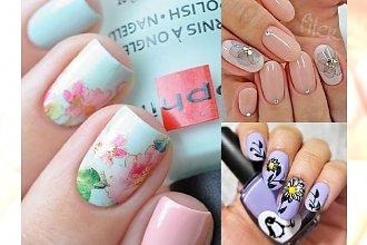 Modna stylizacja paznokci - najpiękniejsze pomysły na kwieciste zdobienia!