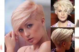 Krótkie i półkrótkie fryzury dla blondynek - cięcia, jak z najlepszych salonów