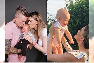 Aleksandra Kosecka, żona Kuby Koseckiego, pokazała zdjęcia ze chrzcin syna! Zobaczcie, jak się ubrali