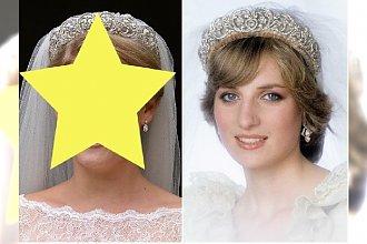 Córka siostry księżnej Diany wzięła ślub W TEJ SAMEJ SŁYNNEJ TIARZE! Internauci: Wyglądają tak samo!