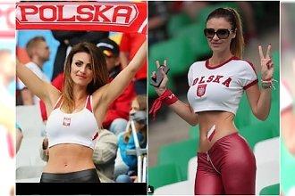 Pamiętacie Miss Euro 2016 MARTĘ BARCZOK? Znów zachwyca na trybunach. Nagrała też piosenkę na Mundial!