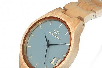 Drewniany zegarek - modny i oryginalny dodatek do letnich stylizacji