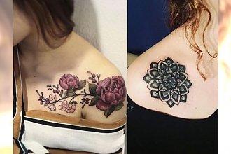 Tatuaż na kości obojczykowej i łopatce - modne wzory dla dziewczyn