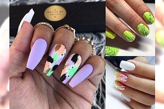 Galeria letnich trendów manicure - 17 najpiękniejszych pomysłów z sieci