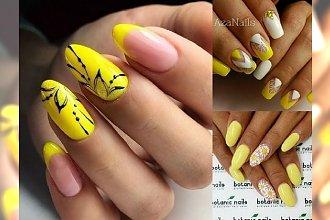 Cytrynowe, słoneczne hybrydy - te stylizacje paznokci poprawią Ci nastrój